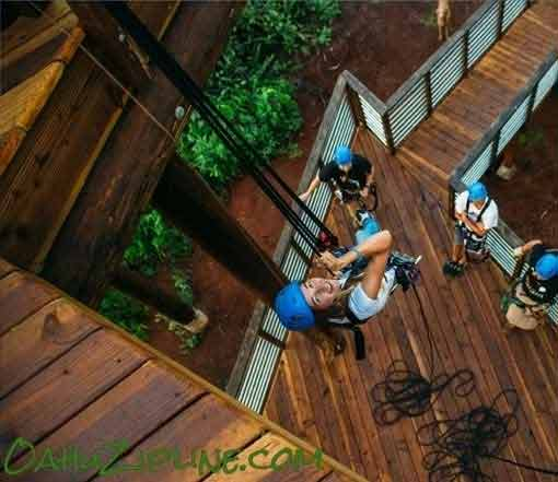 Climbworks Zipline on Oahu