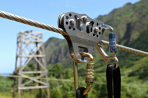Zipline Safety Teather