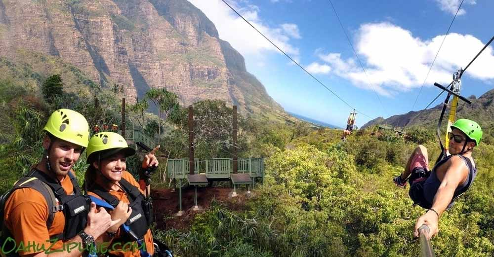 Zip Into Hollywood at Kualoa Ranch