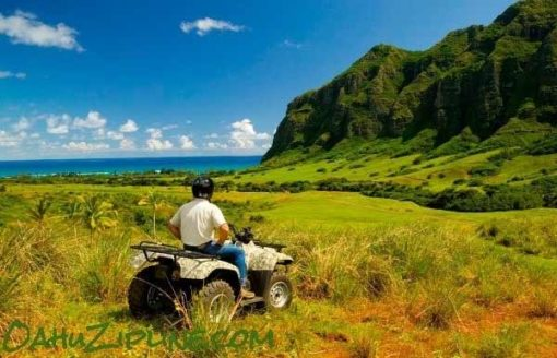 ATV adventure at Kualoa Ranch