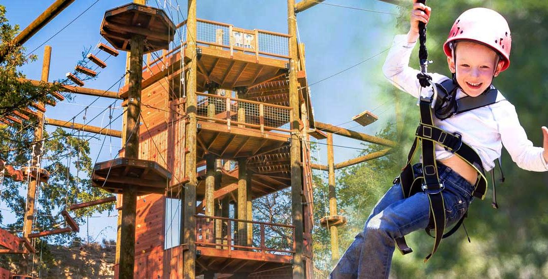 Go West: Ziplining and More at Coral Crater