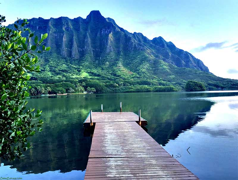 Dock for boat to Hawaii Beach Adventure