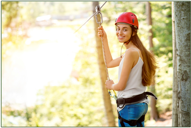Dressing the Part for Ziplining