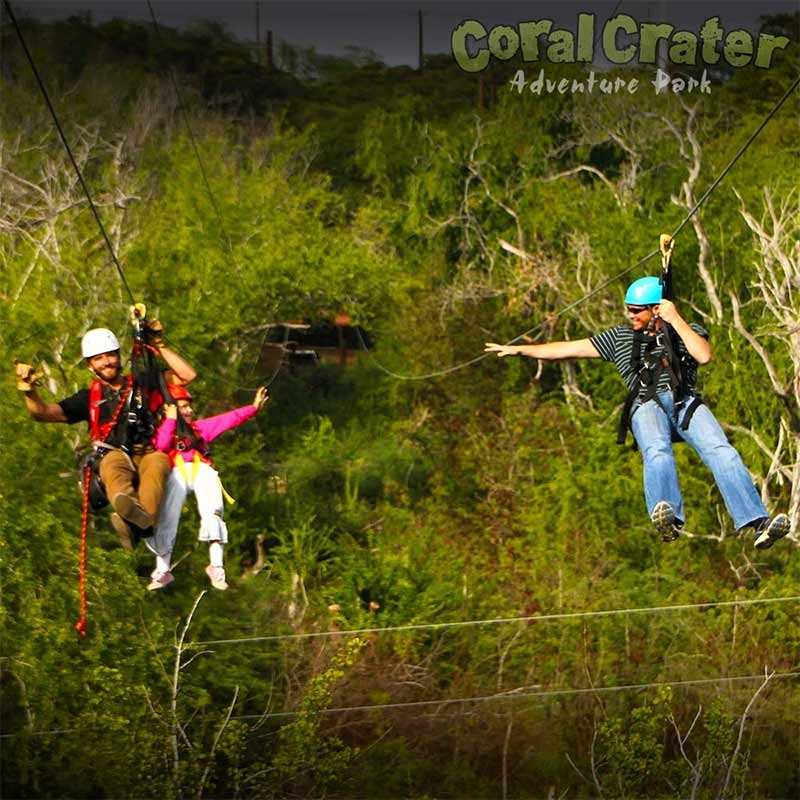 Dual Ziplines with Tandem for Kids