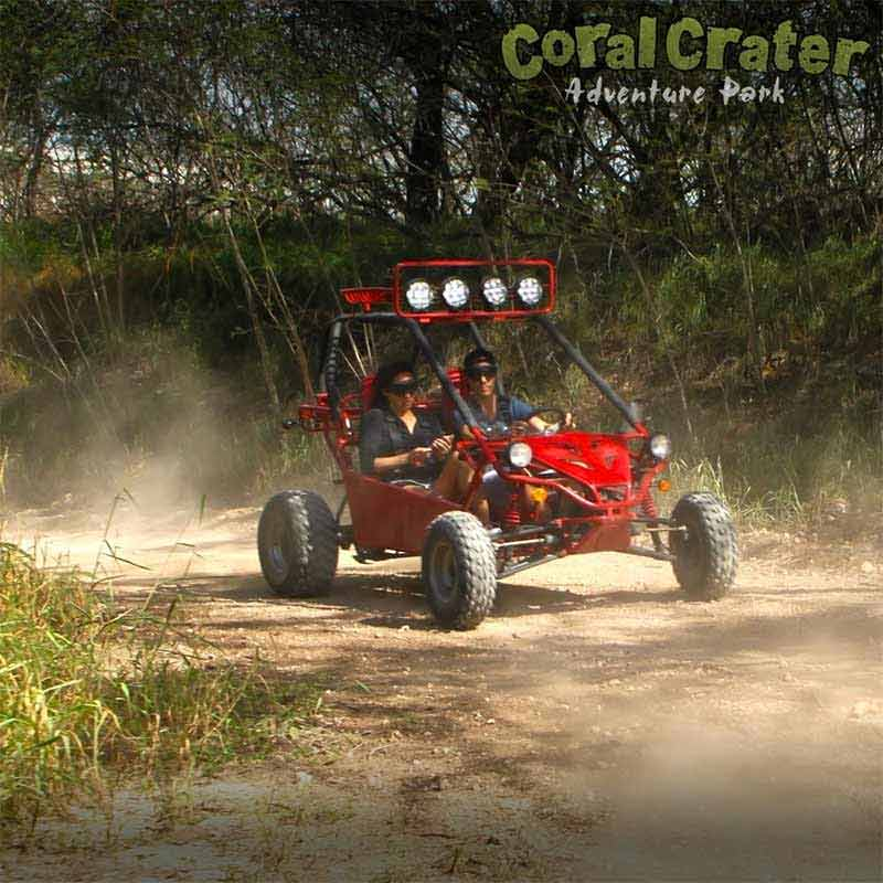 Ride around Coral Crater for a Full Hour