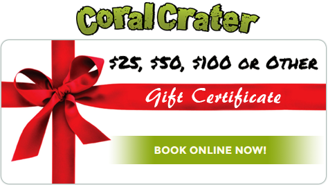 Coral Crater Gift Cards