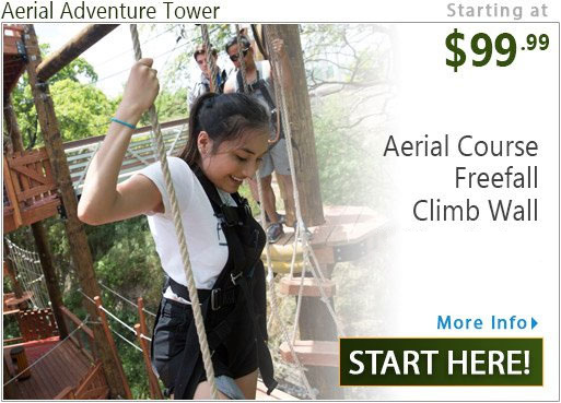 Coral Crater Adventure Tower