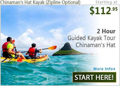 Kayak to the Chinamans Hat